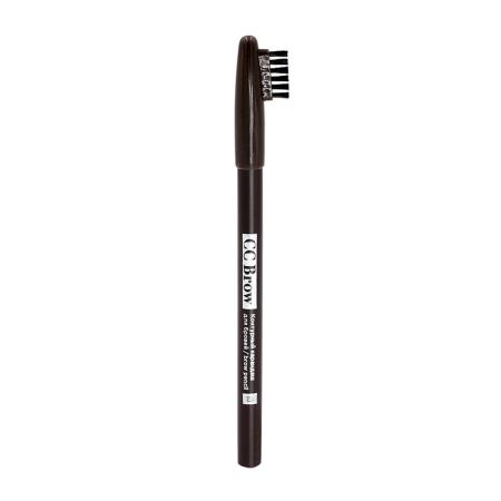 Карандаш контурный для бровей CC Brow pencil,цвет 03(тёмно-коричневый)